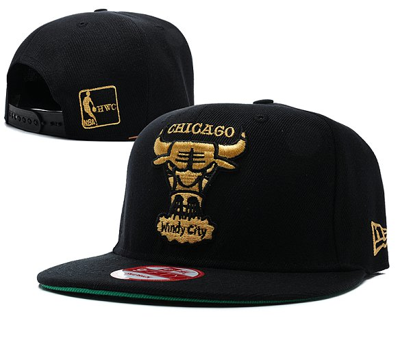Chicago Bulls Snapback Hat SD 8515